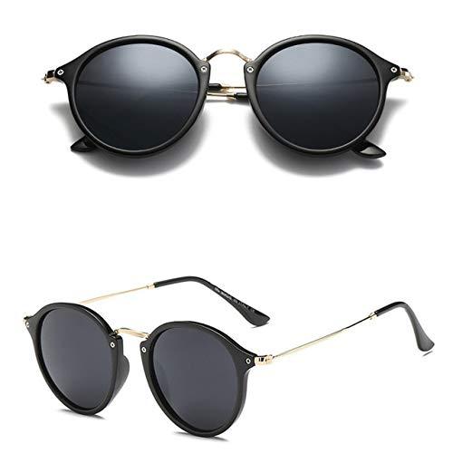 RUK Fashion Gafas de Sol Redondas para Mujer, Gafas de Sol para Mujer, Gafas de Sol para Mujer/Hombre
