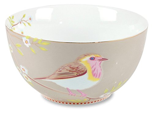 PiP Studio Bowl Early Bird Khaki - 15 cm