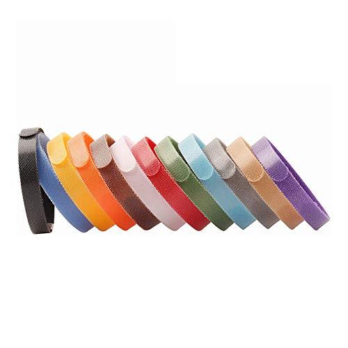 Toyyevr Welpen ID Halsbänder Hündchen Identification Hundemarken 12 Farben Weiches Anpassbar