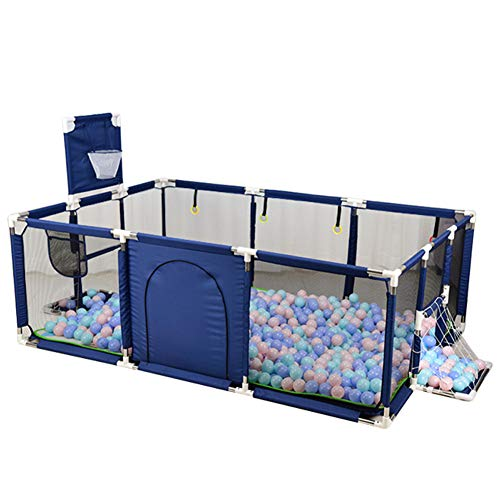 Baby Box Kids Activity Centre, Grote Portable Baby Activity Center Rectangle Fence Tent Met Voetbal Frame En Basketbal Stand Voor De Peuter Van De Baby De Veiligheid Van Speelgoed Ball Pool
