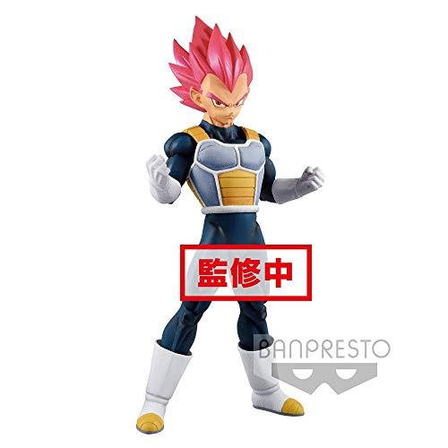 Banpresto - Super Saiyan God Vegeta Figuren, Mehrfarbig, 82630