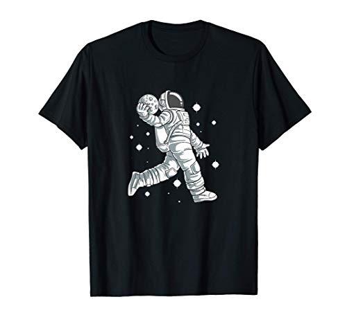 Space Dunk - Astronauta Luna Baloncesto Camiseta