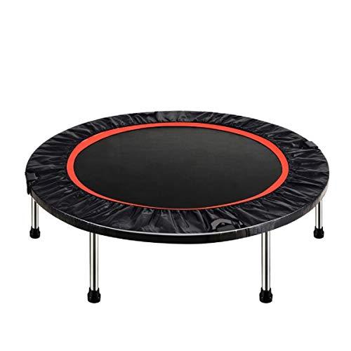 YCRCTC 40 Pulgadas Redondo niños Mini trampolín Almohadilla para niños Juguetes Plegables para Adultos niños Saltar Cama Ejercicio Ejercicio Fitness MAX Cargar 200kg