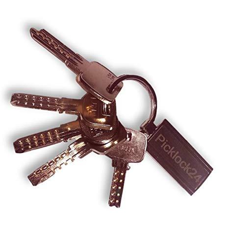 Picklock24. Juego de llaves maestras multipunto válidas para cerraduras de España II