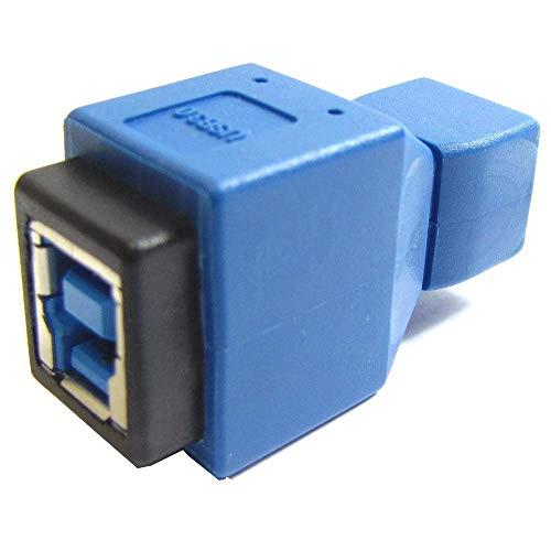 BeMatik - Adaptador USB 3.0 a USB 2.0 (B Hembra a MiniUSB...
