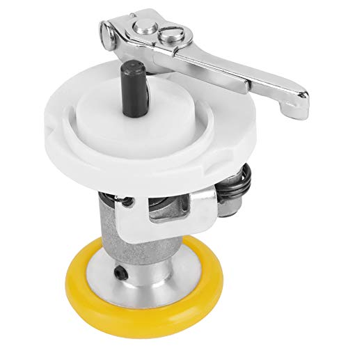 Cikonielf Enrouleur de canette de Machine à Coudre Enrouleur électrique Automatique Industriel Enrouleur de canette en Acier Inoxydable pour Fournitures de Machine à Coudre