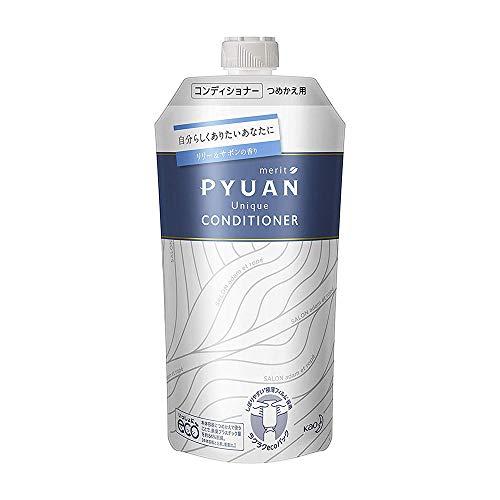 Kao Merit Pyuan Lily & Savon Scent Hair Conditioner 340ml - Unique - Refill (Green Tea Set)