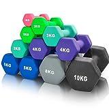 arteesol Kurzhanteln Hanteln 1kg/2kg/3kg/4kg/5kg/8kg Hantelpaare Leicht Schwer für Männer Frauen...