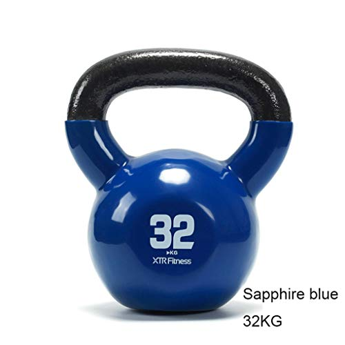 Hanteln Kettle Fitness weibliche Hip Hocke Ausrüstung Armmuskel Hebehauptübung Kettlebell 2-32kg Herren-Kessel Ling Hanteltraining (Größe : 2kg)