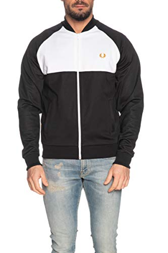 Fred Perry Colour Block Track Jacket, Sportjackett - S