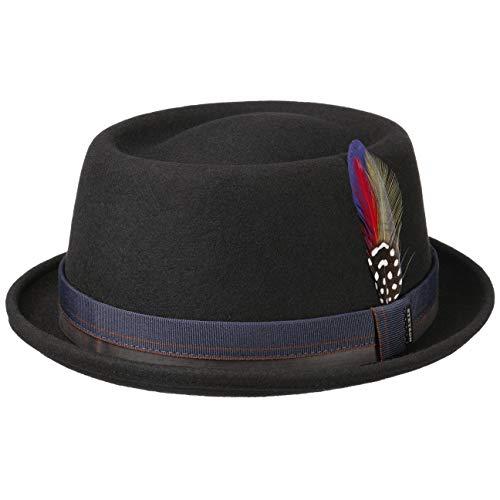 Stetson Sombrero de Fieltro Farladey Pork Pie Hombre -