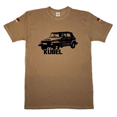 Baquets type 181_kübelwagen oldtimer original tropenshirt après tL nouveau maillot mil-tec chemise coloniale manche kSK bundeswehr iSAF chemise, Beige - Kaki, Herren XXXL