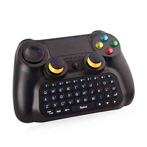 3-in-1 Bluetooth draadloze gamecontroller Android mobiele telefoon Computer TV toetsenbord rocker, Brengt u een andere game-ervaring,Black