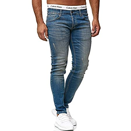 OneRedox Designer Herren Jeans Hose Slim Fit