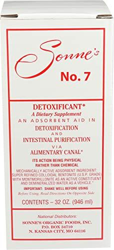 Sonne's Organic Foods - Sonne's No. 7 Detoxification, 32 fl oz Liquid