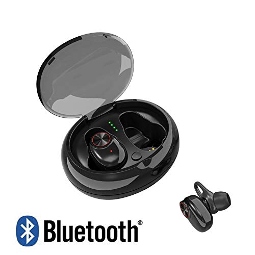 Mini TWS Bluetooth V5.0 Oordopjes Dual Wireless Koptelefoon Bluetooth Headsets Hands-Free Voor Phone PC TV Pad Auto Sports Game