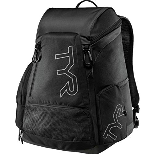 TYR Alliance 30L Backpack All Swimming Equipment, Black, ALL