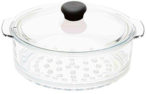 Cristel CWTECVV24 Cuit-Vapeur Verre Cocinelle 24cm, Transparent