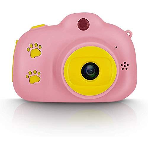 AOUVIK Cámara Digital para niños de Dibujos Animados, Mini cámara de Regalos para niños/niñas de 3 a 10 años, Grabadora de Video HD 1080P, Pantalla LCD de 2'