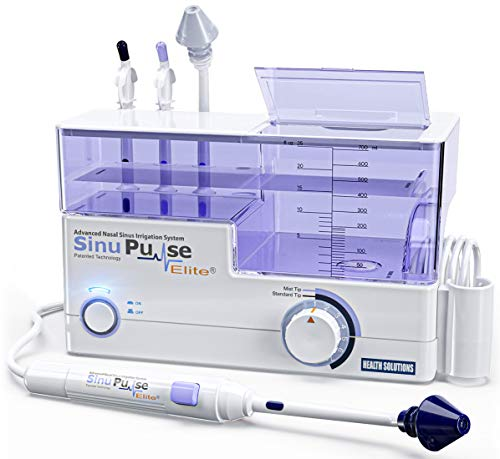 アメリカ生まれの電動 鼻洗浄器 サイヌパルス