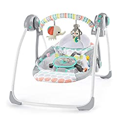 Best on a Budget: Bright Starts Whimsical Wild Portable Compact Automatic Swing