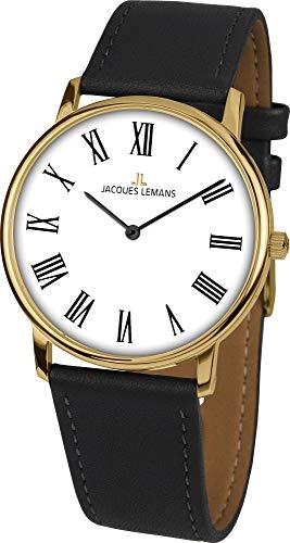 Jacques Lemans Classic 200 1-2004 1-2004G - Reloj de pulsera para mujer