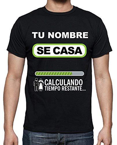 latostadora - Camiseta Despedida de Soltero para Hombre Negro XXL