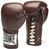 LEONE 1947 Anniversary - Guantes de Boxeo Unisex, Unisex Adulto, Color marrón, tamaño 10 oz (280 g)