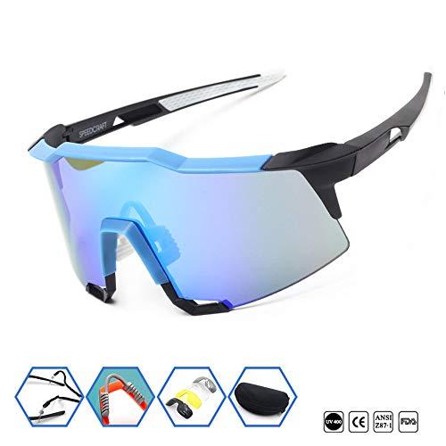 Liuxiaomiao-SP Sportzonnebrillen in de open lucht bergklimvis-bril nu sport-zonnebril grote lens, die glazen fietsen, ultralicht montuur voor mannen en vrouwen