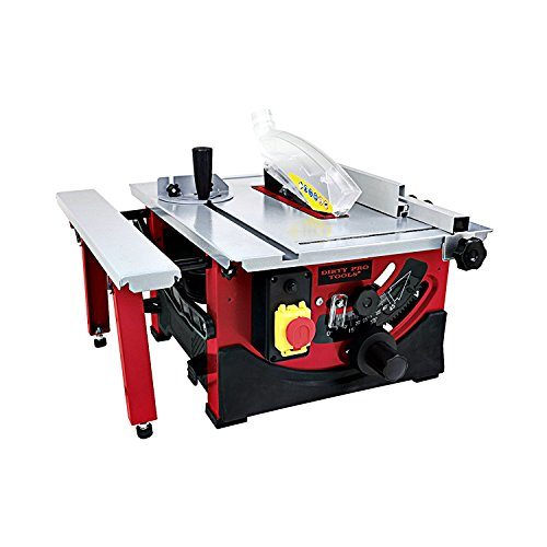 "Dirty Pro Tools™ Table Saw 8"" Blade with Sliding Side Extension 240v"