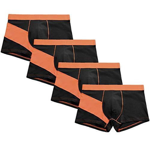 Herren Unterwäsche Boxer Marca Boxershorts Herren Homme Man Boxershorts Unterhose Meng Cotton Herren Höschen Style B @ XXL