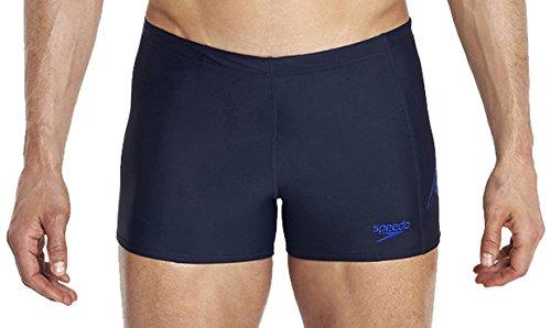 Speedo Maillot de Bain Logo pour Homme Sports PNL ASHT aM 42 Bleu - Bleu Marine/Bleu