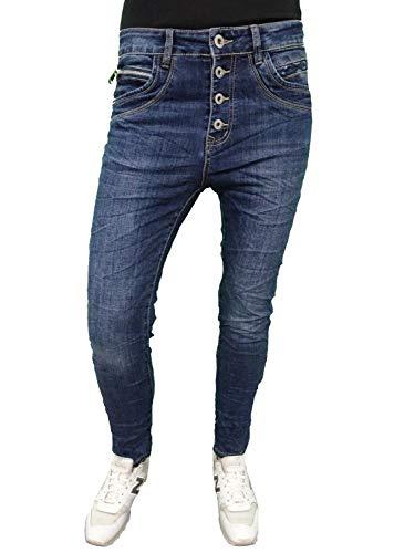 Karostar Denim Stretch Baggy-Boyfriend-Jeans...