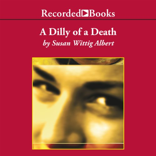 A Dilly of a Death audiobook cover art