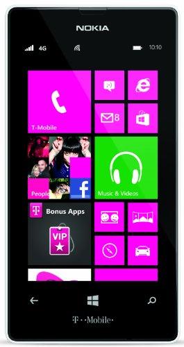 Nokia Lumia 521 RM-917 8GB T-Mobile GSM Windows 8 Cell Phone - White