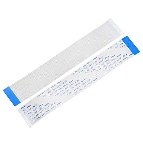 YeVhear - Cable plano flexible de 50 pines de 0,5 mm, 150 mm, FPC FFC, cable de cinta flexible para TV LCD, coche, reproductor de DVD y audio portátil (10 unidades)