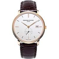 Frederique Constant Slimline Quartz Silver Dial Men's Watch