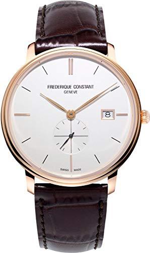 Frederique Constant Geneve Slimline Gents Small Seconds FC-245V5S4 Reloj Unisex Fabricado en Suiza