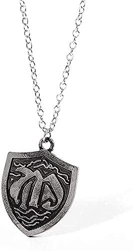 BEISUOSIBYW Co.,Ltd Serie The Seven Shields Anhänger Halskette Nanatsu No Taizai Vintage Punk Halskette für Männer Schmuck Geschenk Halskette