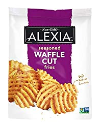 Alexia Seasoned Waffle Cut Fries, 20 oz (Frozen)