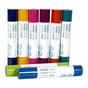 Vinilo adhesivo de Silhouettes, rollo de 30 x 180 cm, color Purple, Matte Finish: Amazon.es: Oficina y papelería
