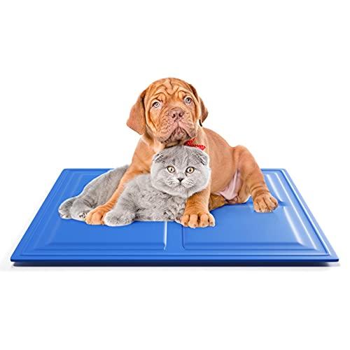 KORIMEFA Tappetino rinfrescante per cani, resistente tappetino per animali domestici, in gel non tossico auto-raffreddante, ideale per cani e gatti in estate calda (50*65CM)