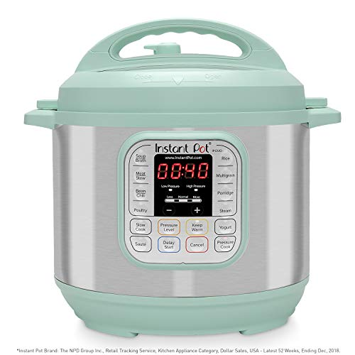 Instant Pot Duo 7-in-1 Electric Pressure Cooker, Slow Cooker, Rice Cooker, Steamer, Saute, Yogurt...