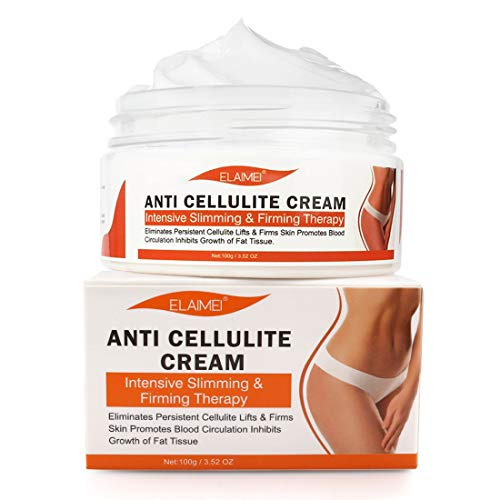 Hot Cream Anti Cellulite Treatment,Extreme Cellulite Slimming & Firming Cream, Massage Gel Weight Losing, Body Fat Burning Best Weight Loss Cream-3.5 OZ
