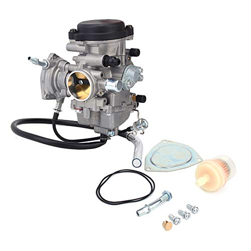 Jfg Racing Ansaugkrümmer für Vergaser, 33 mm, für Yamaha YFM350, YFM400, YFM450, Bruin, Big Bear, Wolverine, Kodiak, Grizzly