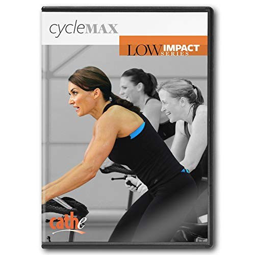 Cathe Freidrich Low Impact Cycle Max Indoor Cycling DVD [DVD]