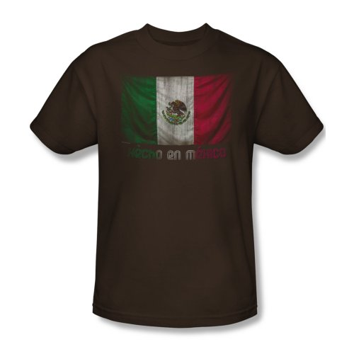 Hecho En Mexico - Männer T-Shirt In Kaffee, XXX-Large, Coffee