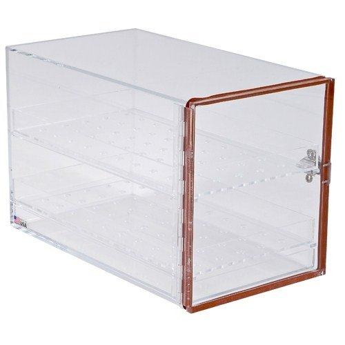 Dynalon 143115 Transparent Acrylic Large Lab Desiccator Cabinet, 16