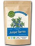 Juniper Berries   16 oz - 453 g, Reseable Bag   Whole Juniper Berries MEDITERRANEAN CROPS   100% Natural   Premium Grade, Freshly Packed