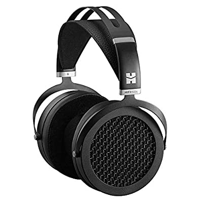 HIFIMAN SUNDARA Over-ear Full-size Planar Magnetic Headphones with High Fidelity Design Easy to Drive by iPhone/Android Comfortable Headband Open-Back Design Easy Cable Swapping Black